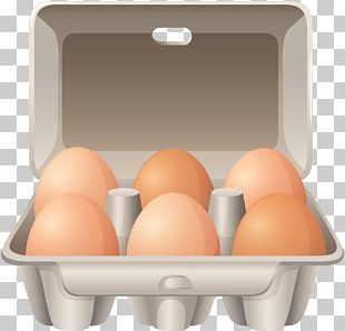 Fried Chicken Egg Carton PNG