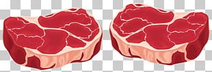 Red Meat Steak Raw Meat PNG