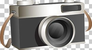 Camera Grey Black And White PNG