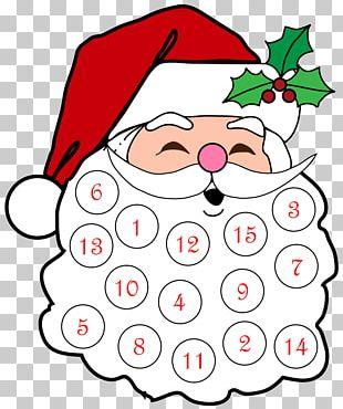 Santa Claus Christmas Tree Advent Calendars Christmas Ornament PNG