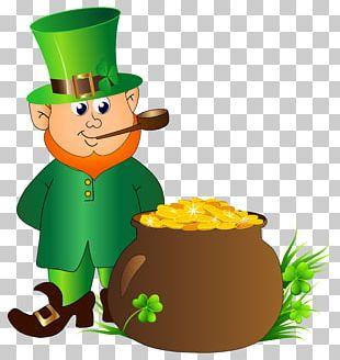 Saint Patrick's Day Leprechaun PNG