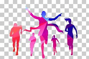 Allahabad Sport Indira Marathon Running PNG