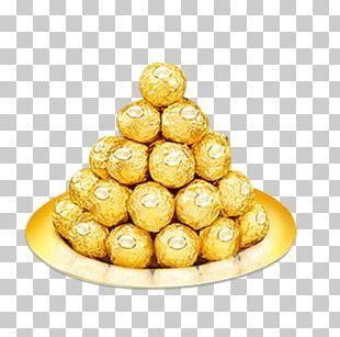 Ferrero Rocher Raffaello Praline Lollipop Bonbon PNG