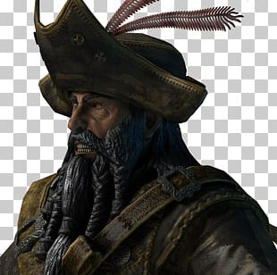 Thepix Sid Meier's Pirates! Beard UV Mapping PNG