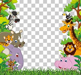 Animal Jungle PNG