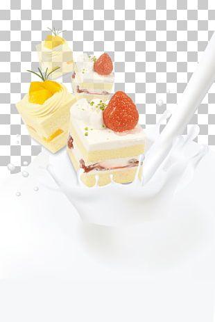Milk Cream Yogurt Cake PNG