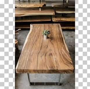 Table Live Edge Wood Furniture Dining Room PNG