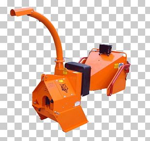 Woodchipper Power Take-off Hydraulic Machinery Tractor PNG
