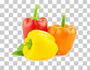 Chili Pepper Yellow Pepper Red Bell Pepper Paprika PNG