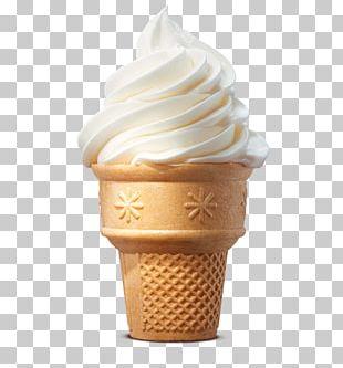 Ice Cream Cones Sundae Milkshake Hamburger PNG