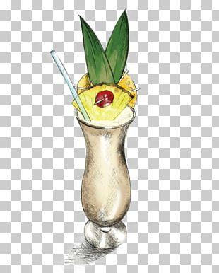 Cocktail Garnish Piña Colada Mai Tai Batida PNG