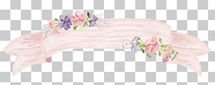 Flower Watercolor Painting Frame PNG