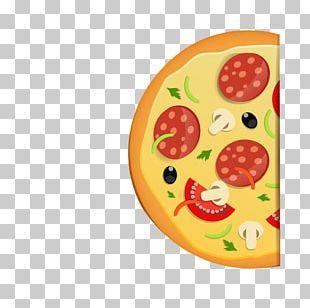 Pizza Italian Cuisine Menu Template PNG