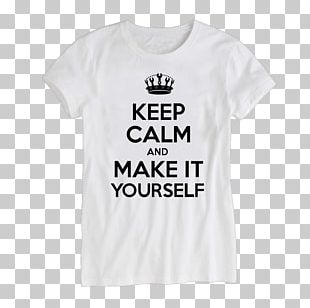 T-shirt Keep Calm And Carry On Gift Redbubble PNG