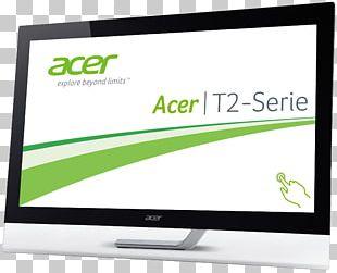 Computer Monitors Acer Aspire LED-backlit LCD Display Size PNG