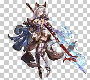 Granblue Fantasy Character Concept Art Model Sheet PNG