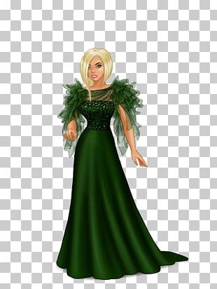 Lady Popular Fashion Dress-up XS Software Costume PNG