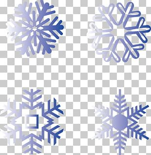 Snowflake Silhouette Winter PNG