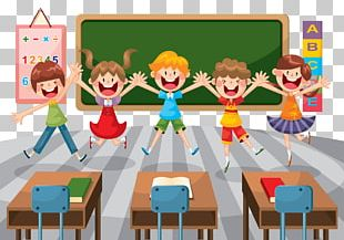 Student School Classroom Education Illustration PNG