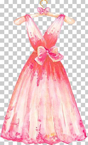Wedding Dress Clothes Hanger Formal Wear PNG