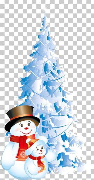 Christmas Snowman Desktop PNG