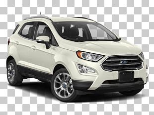 Sport Utility Vehicle 2018 Ford EcoSport SE 2.0L 4WD SUV Car Latest PNG