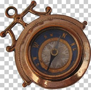 Clock 01504 Antique Metal Clothing Accessories PNG