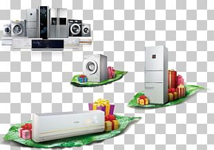 Refrigerator Washing Machine Air Conditioner Air Conditioning Midea PNG