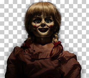 Annabelle Haunted Doll Conjuring Ed And Lorraine Warren PNG