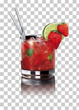 Cocktail Garnish Caipirinha Caipiroska Strawberry Mojito PNG