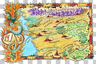 Fighting Fantasy Fantasy Map Duvet Covers PNG