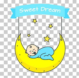 Infant Cartoon Sleep PNG