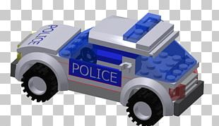 Police Car LEGO Toy PNG
