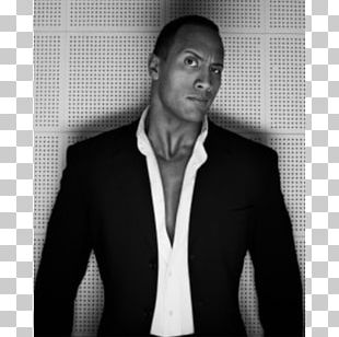 Dwayne Johnson The Rundown Actor Black And White PNG