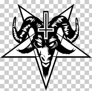 Pentagram Baphomet Satanism T-shirt PNG