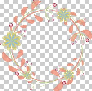 Wedding Invitation Border Flowers PNG
