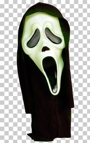 Ghostface Scream Mask Halloween Costume PNG