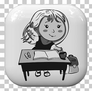 Learning Education Drawing Black And White Cartoon PNG