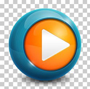 Orange Circle Font PNG