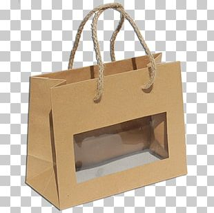 Kraft Paper Plastic Bag Packaging And Labeling Paper Bag PNG