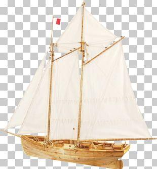 Sail Ship Model Pilot Boat PNG