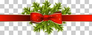 Red Ribbon Christmas Red Ribbon Gift PNG