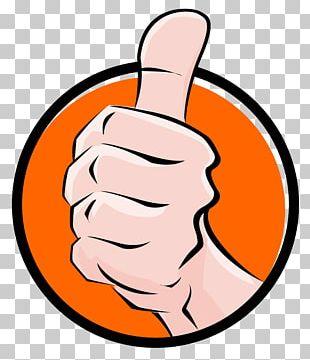 Thumb Signal Job PNG