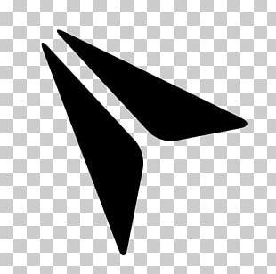 Airplane Paper Plane Logo PNG