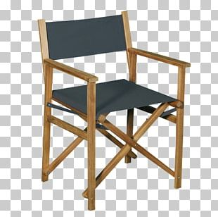Director's Chair Folding Chair Table Furniture PNG