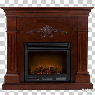 Hearth Electric Fireplace Infrared Heater Fireplace Mantel PNG