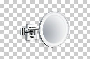 Mirror Bathroom Silver Magnifying Glass Decor Walther PNG