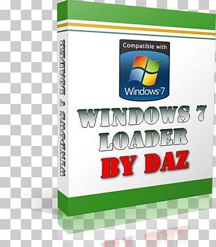 Windows 7 Windows Vista Product Activation Loader PNG