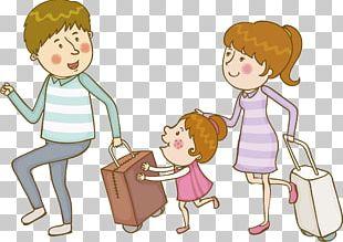 Travel Suitcase Bag Illustration PNG