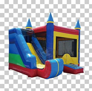 Inflatable Bouncers Child Playground Slide Renting PNG